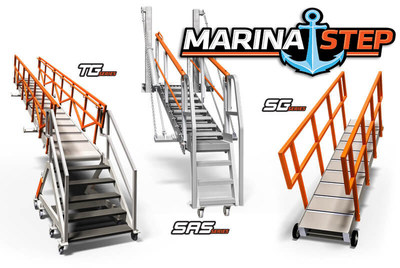 MarinaStep is an innovative line of ship and marine gangways and access ramps, specifically designed for the maritime marketplace.