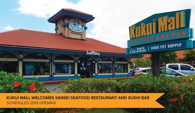 Sansei Announces New Location At Kukui Mall