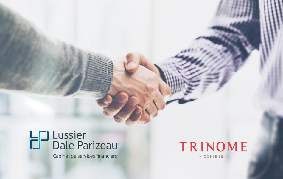 Important transaction for Lussier Dale Parizeau and Trinome Conseils (CNW Group/Lussier Dale Parizeau Inc.)