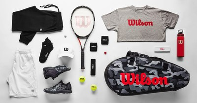 """Wilson's new """"CAMO EDITION"""" Collection includes rackets, bags, shoes and select men's and women's apparel"""