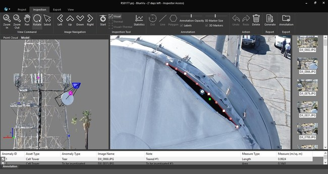 Industrial SkyWorks Releases Latest BlueVu Software for Drone