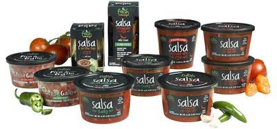 Fresh Cravings product line includes Pico de Gallo, Restaurant Style Salsa, and Chunky Salsa. Available in 16-oz. and 24-oz. tubs along with on-the-go snack packs.