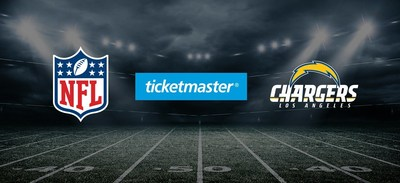 Ticketmaster and Los Angeles Chargers Extend Partnership