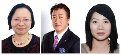 Category judge (from the left) Ida Wong, Hidetaka Dobashi and Suzanne Wong