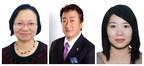Category judge (from left) Ida Wong, Hidetaka Dobashi and Suzanne Wong