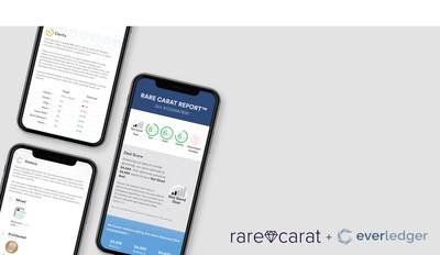 The Rare Carat Report is the first consumer tool to check diamond price, quality and provenance.