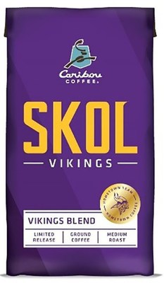 "Caribou Vikings ""SKOL"" Blend limited edition"
