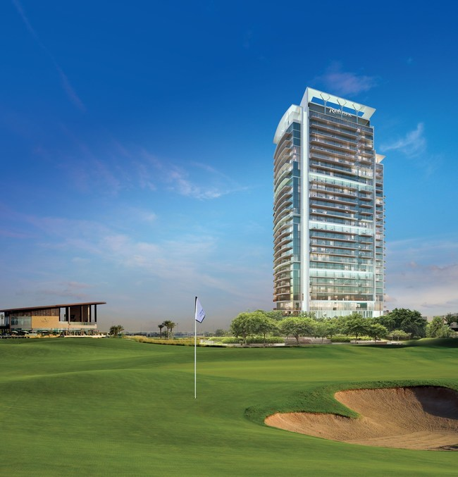 Radisson Hotel, Dubai DAMAC Hills, overlooking Trump International Golf Club Dubai, will offer ownership opportunities in Dubai's growing hospitality sector