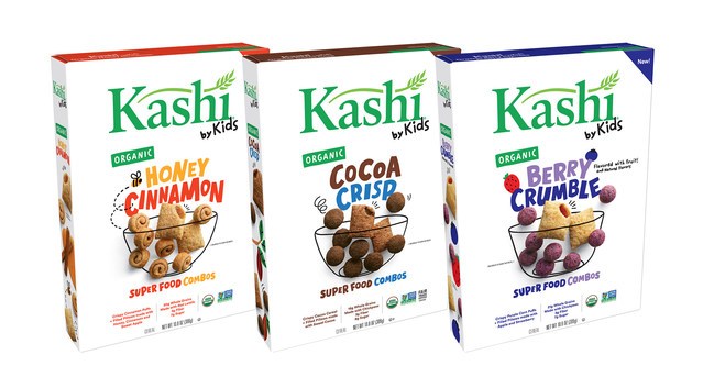 Kashi by Kids is a collection of delicious, awesome and organic cereals co-created with kids, for kids.