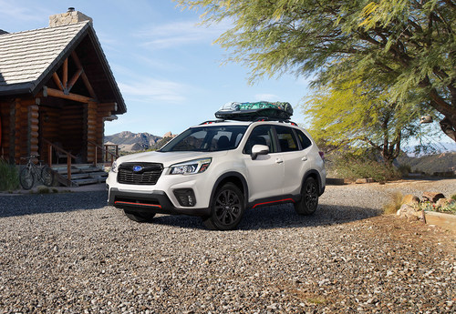 The roomiest, most capable Forester to date will be available in six well-equipped trims when the all-new fifth-generation version of one of Subaru's most iconic models goes on sale this fall. (CNW Group/Subaru Canada Inc.)