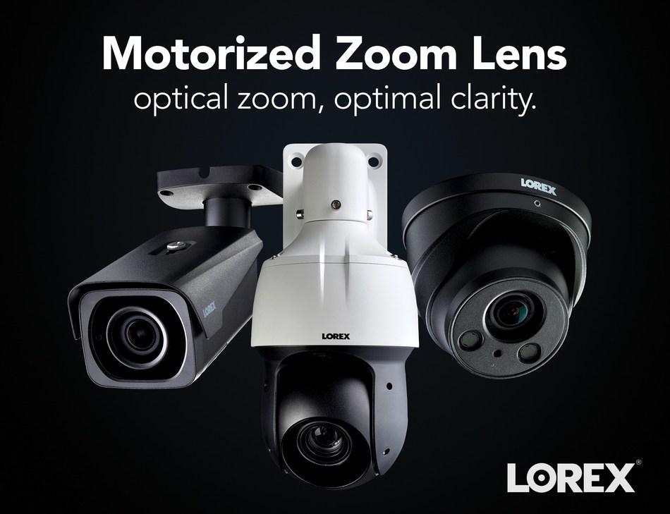 Lorex Motorized Zoom Lens (CNW Group/LOREX Technology Inc.)
