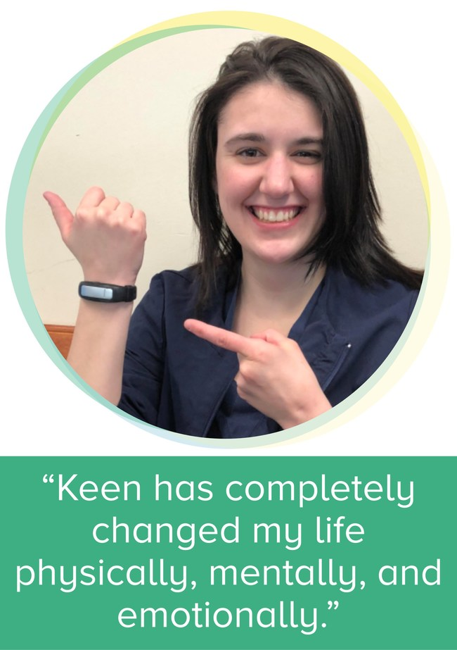 HabitAware Keen Bracelet is helping people with mental health conditions get their lives back.