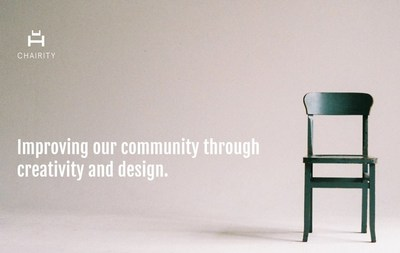 Chairity is a design event that revisions chairs to benefit chairity.