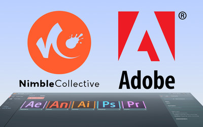 Nimble Collective and Adobe Collaborate to Integrate Adobe Creative Cloud on the Nimble Virtual Studio Platform