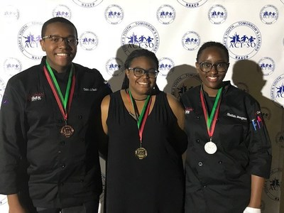 Sodexo and partners celebrate ACT-SO competition winners.