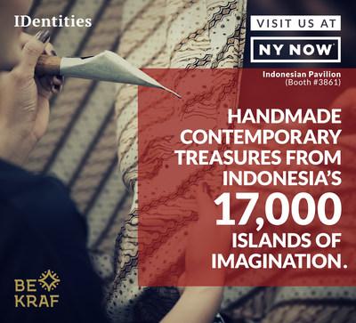 Bekraf to Showcase Indonesia's Contemporary Treasures at 2018 NY Now