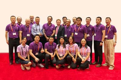 YMTC team at FMS 2018