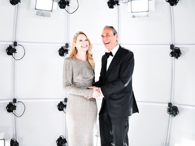 BIG ALICE - Actress Stephanie March with Dan Benton at the Annual FIT Awards Gala in NYC. Free of charge for media publications. C: Zach Hilty/BFA.com