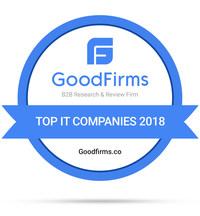 Top IT Companies - 2018 (PRNewsfoto/GoodFirms)