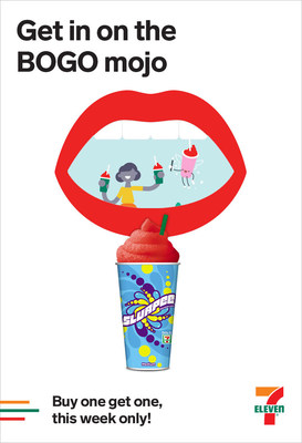 7-Eleven stores are bringing back a popular promotion at the perfect time for friends to share a back-to-school beverage. The world's largest convenience retailer kicks off Share-a-Slurpee drink fun with a five-day Buy One-Get One Free (BOGO) Slurpee drink event beginning 12:01 a.m. local time Monday, Aug. 13, and running through 11:59 p.m. local time Sunday, Aug. 19.
