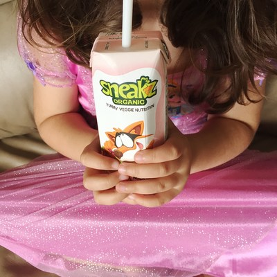 Sneakz Organic Achieves Organic Certification In China For New Category Of Vegetable-Infused Milk Drinks