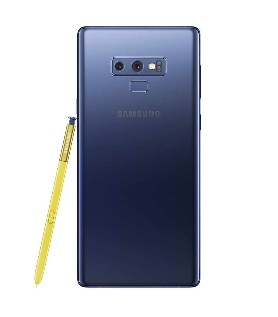 Introducing the Samsung Galaxy Note9, available in Ocean Blue and Midnight Black. (CNW Group/Samsung Electronics Canada)