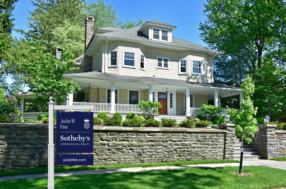 William Pitt and Julia B. Fee Sotheby's International Realty property for sale in Westchester County NY (PRNewsfoto/William Pitt-Julia B. Fee Sothe)
