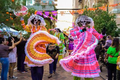 Celebración del Día de los Muertos en Pearl (PRNewsfoto/Visit San Antonio)