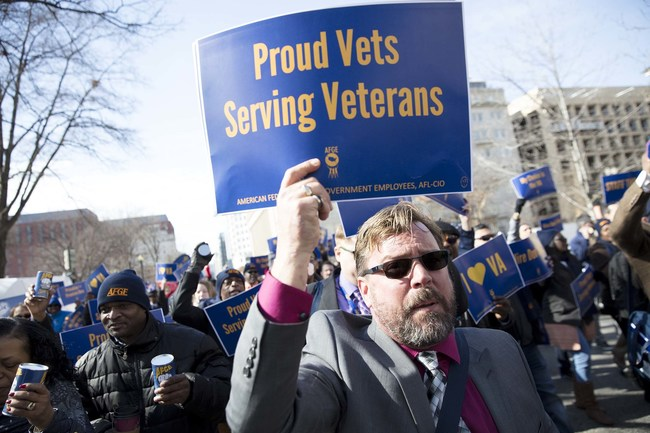 The American Federation of Government Employees, which represents more than 260,000 VA workers, is seeking a status quo ante remedy which would result in a complete reversal of the implementation of Executive Order 13837, and a return to the terms of the current and valid Collective Bargaining Agreement.