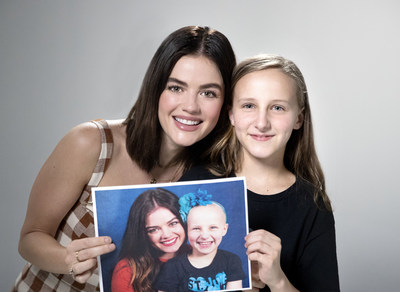 Lucy Hale will serve as the St. Jude ambassador for Childhood Cancer Awareness Month this September. The actress, a Memphis native, has a special connection to the patients of St. Jude Children's Research Hospital.