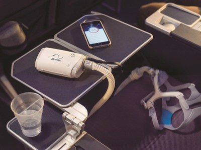 The AirMini travel CPAP is perfect for travel to any destination. Take it with you - even in the air!