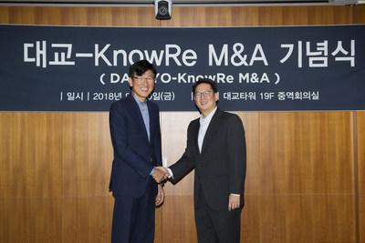 https://mma.prnewswire.com/media/729142/daekyo_acquires_knowre.jpg