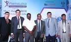 Caption:L _ R : Mr. Rahul Deshpande, Group Director, UBM India; Mr. Yogesh Mudras, Managing Director, UBM India; Mr. Uday Bhaskar Reddy, Director General, Pharmaceuticals Export Promotion Council (PHARMEXCIL); Dr P V Appaji, Director General Emeritus, Pharmaceuticals Export Promotion Council (PHARMEXCIL); Mr. Avinash Talwar, Director & Head, Global Sourcing (Strategic & Plant) Dr.Reddy's Laboratories Ltd and Dr.R B Smarta, MD, Interlink Marketing Consultancy at the inauguration of the 5th Edition of PharmaLytica at the Hitex Exhibition centre (PRNewsfoto/UBM India)