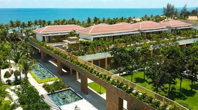 The green landscape at Salinda Resort Phu Quoc Island