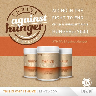 Le-Vel and Rise Against Hunger join forces to fight world hunger