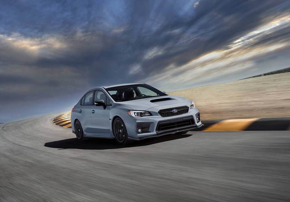 Limited edition Raiu Edition the first special edition WRX in Canada in more than 15 years. (CNW Group/Subaru Canada Inc.)