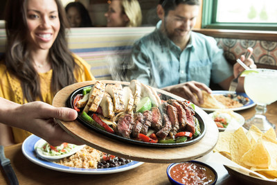 On The Border Mexican Grill & Cantina® will be bringing out the sizzle to honor National Fajita Day with week-long fajita fiesta specials starting on Mon., Aug 13th until Sat., Aug. 18th!