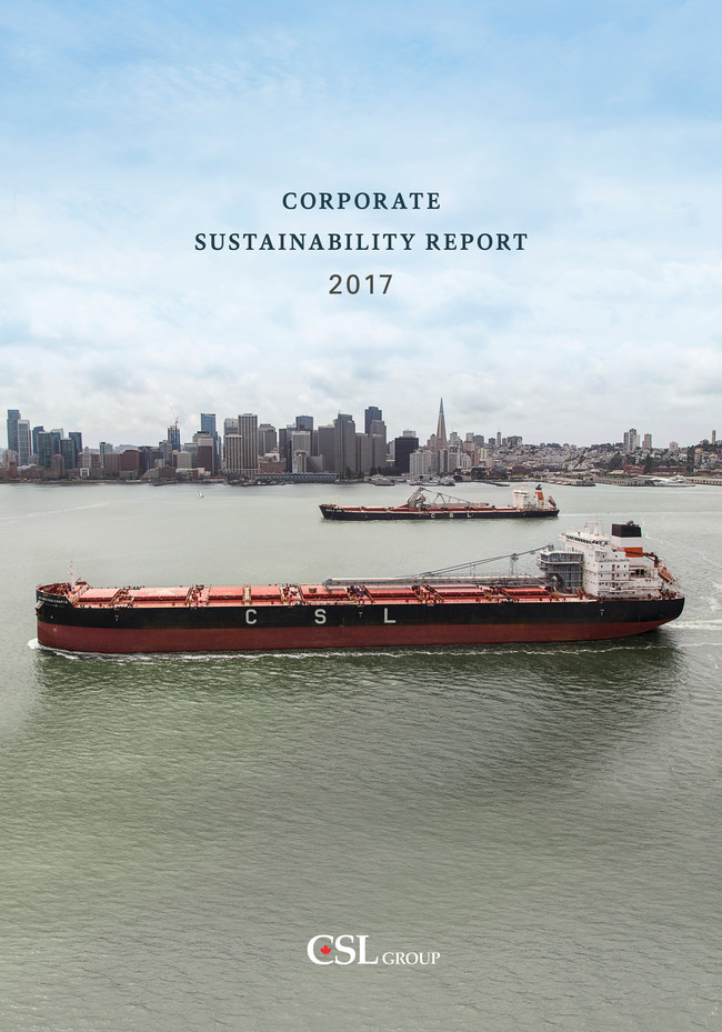 CSL Releases 2017 Corporate Sustainability Report (CNW Group/The CSL Group Inc.)