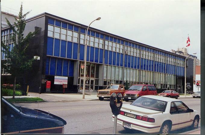 Édifice du gouvernement du Canada situé au 105, rue Christina Sud, à Sarnia (Ontario) (Groupe CNW/Services publics et Approvisionnement Canada)