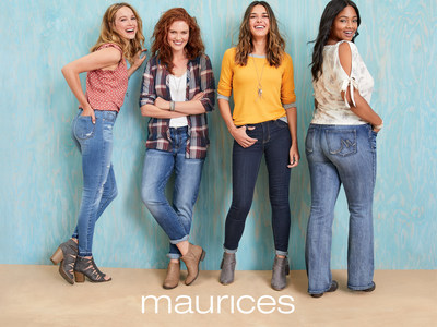 maurices denim for all.