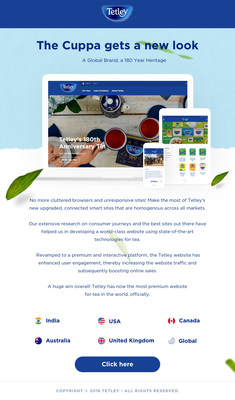 BORN and Acquia are thrilled to introduce the new digital experience for Tetley Tea!