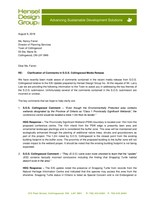 Cranberry Bear Estate SOS Reply (CNW Group/Living Water Resorts)