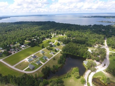 The Meadows of Cedar Point located on Lake Livingston, an hour north of Houston, Texas, experiencing explosive housing growth.
