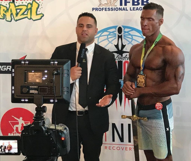 Carlos 'Caike' DeOliveira Wins 2018 Musclecontest Brazi