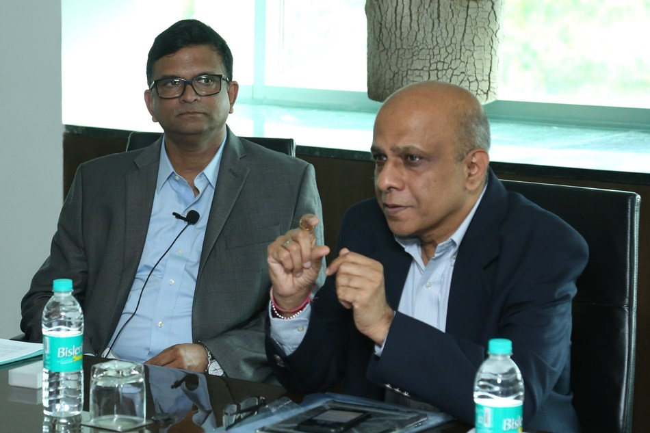 L to R- Allen Antao, Executive Vice President & Business Head, Godrej Process Equipment and Anil Verma, Executive Director & President, Godrej & Boyce (PRNewsfoto/Godrej Group)