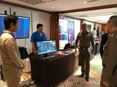 The seminar featured few exhibitors including R V Connex Co., Ltd., Bangkok OA Coms Co., Ltd., Premier Food & Machinery Co., ODS Co., Ltd., and Western Digital(Thailand) Co., Ltd. (PRNewsfoto/UBM Asia (Malaysia))