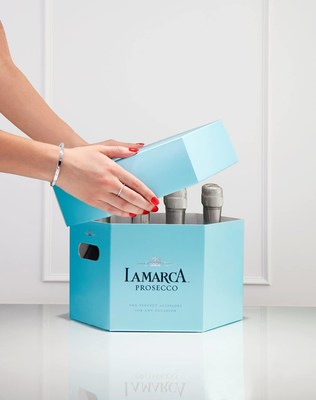 La Marca's Celebration Set now available with 12 mini bottles of Prosecco