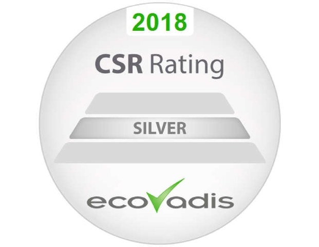 SI Group is in the top 7% of the companies recognized for their corporate social responsibility in the international scale