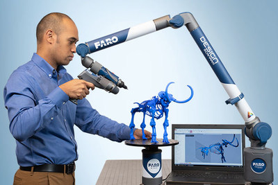 The new FARO PRIZM Laser Line Probe brings high quality color scans with an unprecedented ergonomic experience.