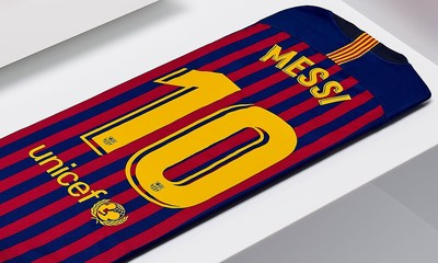 Avery Dennison Secures Global Contract With F.C. Barcelona® to Supply Names and Numbers for Team Jerseys (PRNewsfoto/Avery Dennison)